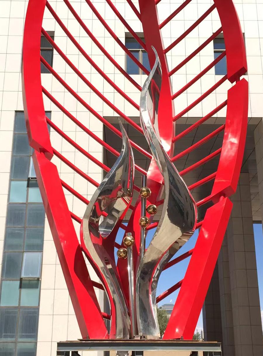 武威广场雕塑-3