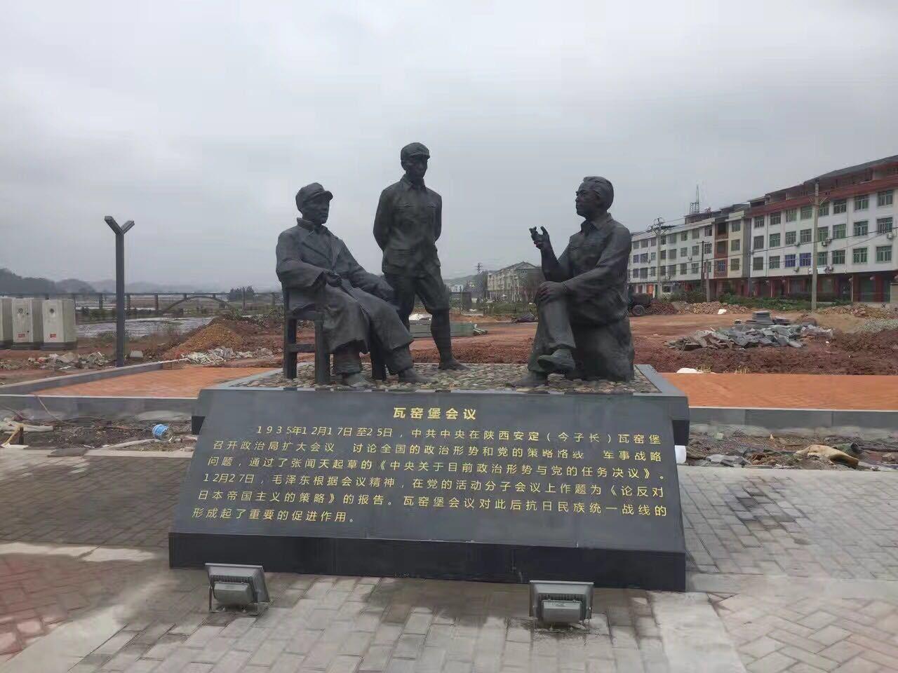 紅軍雕塑玻璃鋼戰爭雕塑8