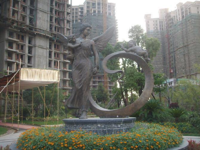 鑄銅袋鼠雕塑1