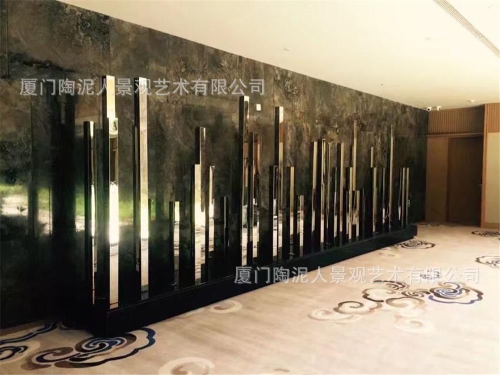 玻璃鋼酒店雕塑擺件1