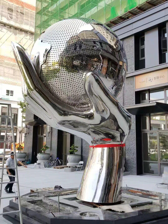 不銹鋼雕塑1