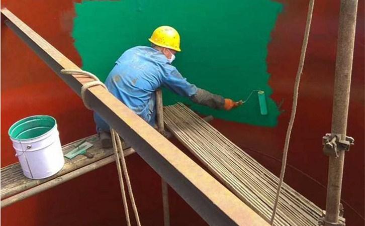 环氧玻璃鳞片涂料施工方法