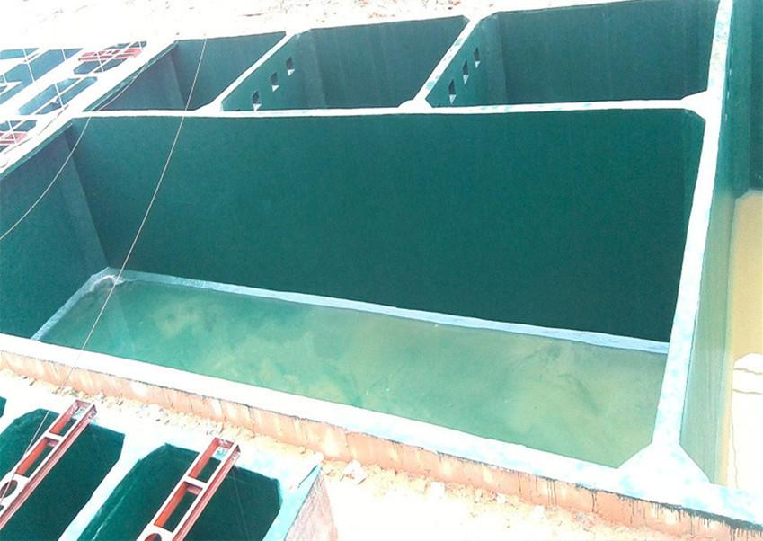 环氧玻璃鳞片胶泥怎么调配,施工方法是什么?