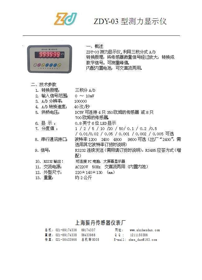 1-ZDY-03型测力显示仪-2017-ZDY-03网说