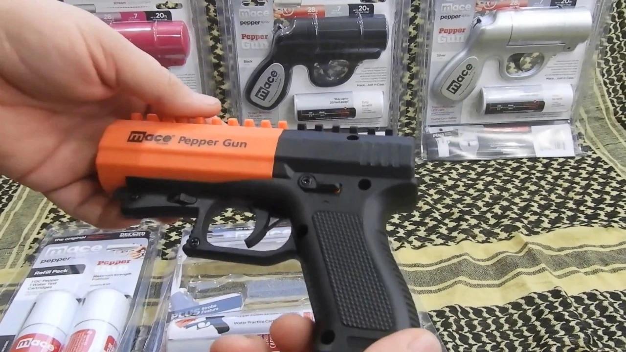 梅西防狼喷雾枪型