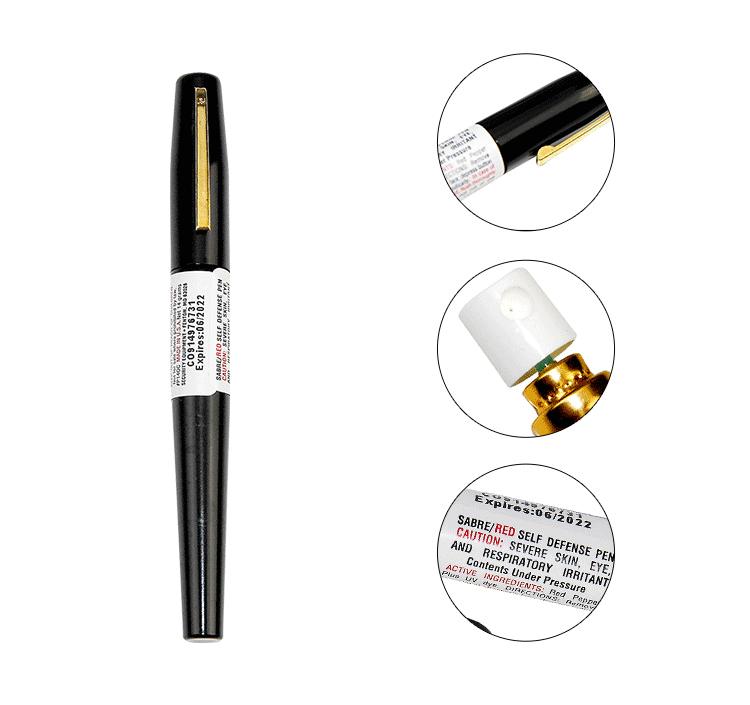 沙豹钢笔型防狼喷雾细节图