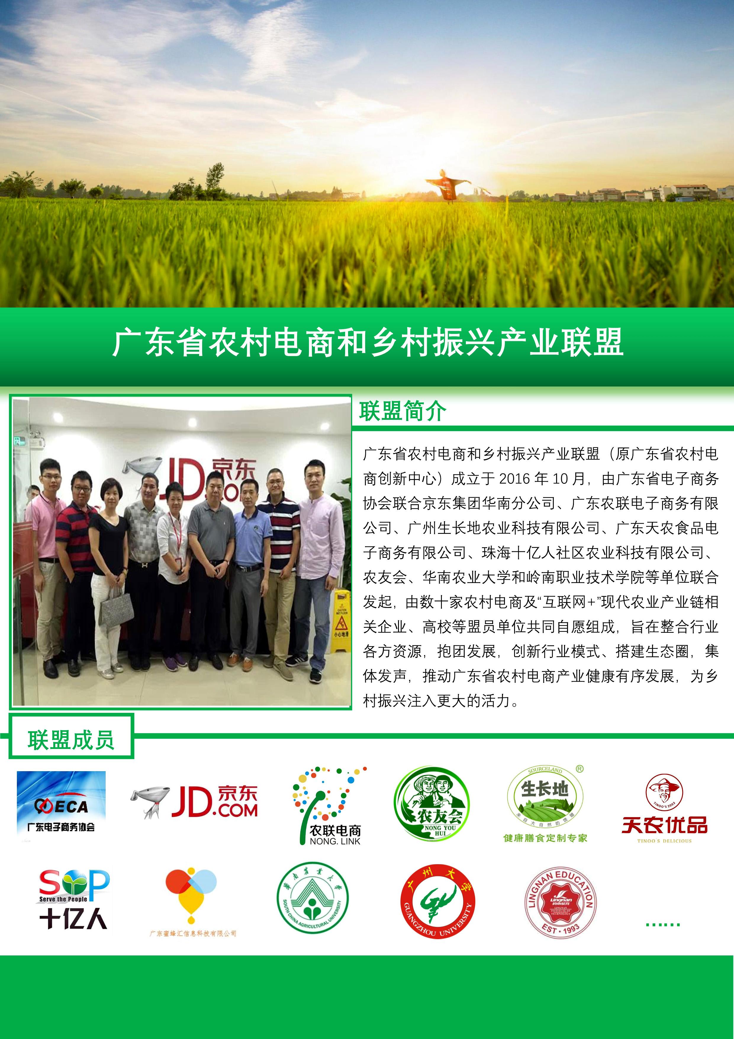 广东省农村电商和乡村振兴产业联盟_1