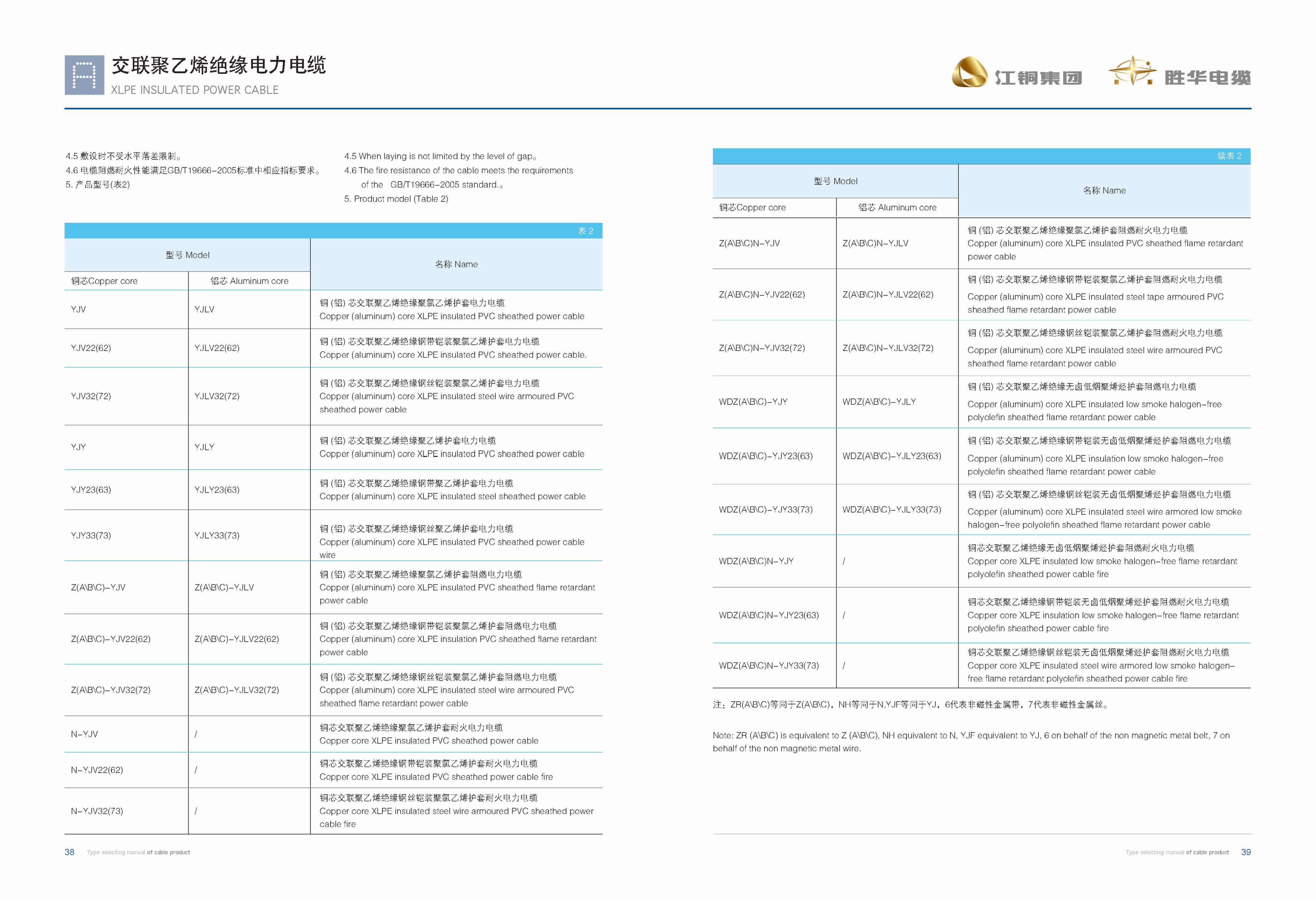 江铜胜华型号电子版2019-21