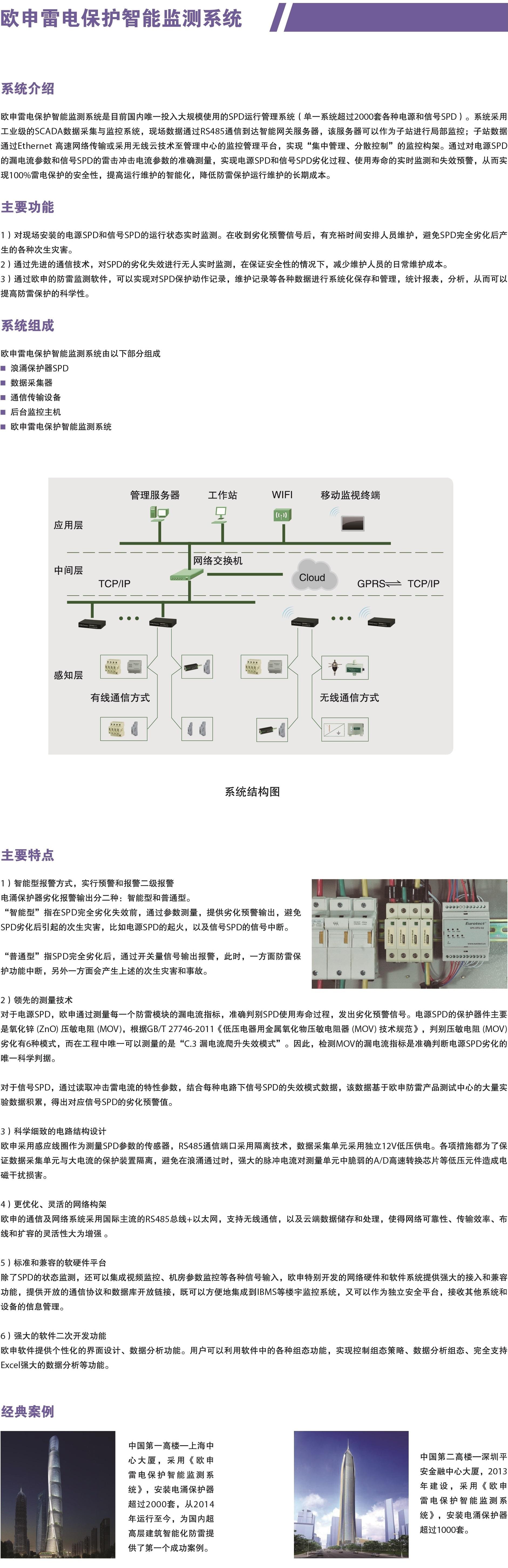 雷电保护智能管理系统