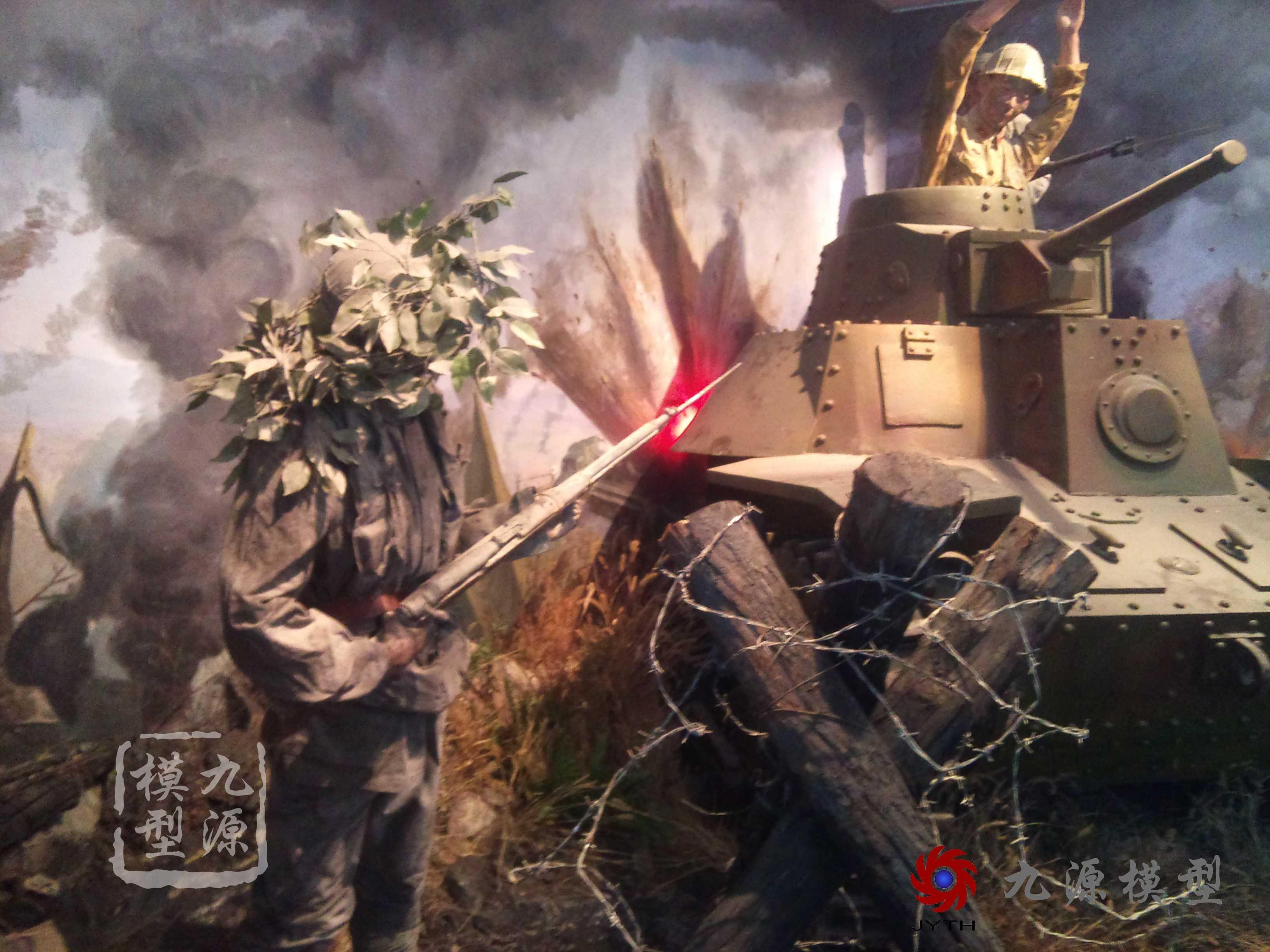 滕州抗日战争博物馆场景-DSC_0571-1