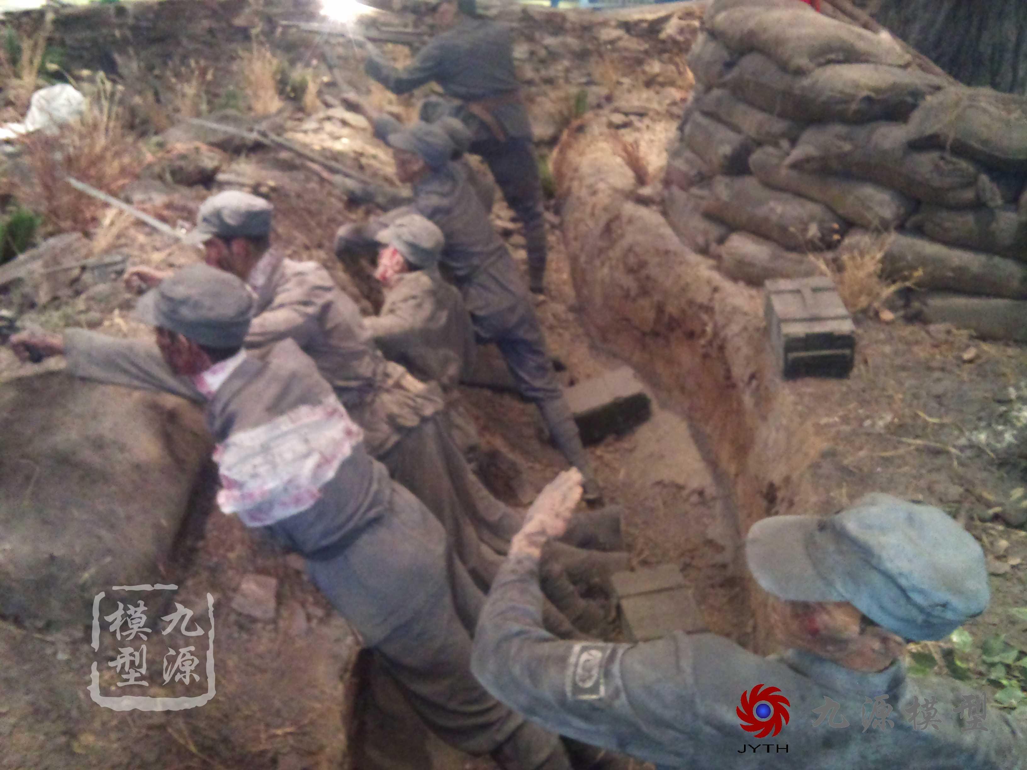 滕州抗日战争博物馆场景-DSC_0587-1