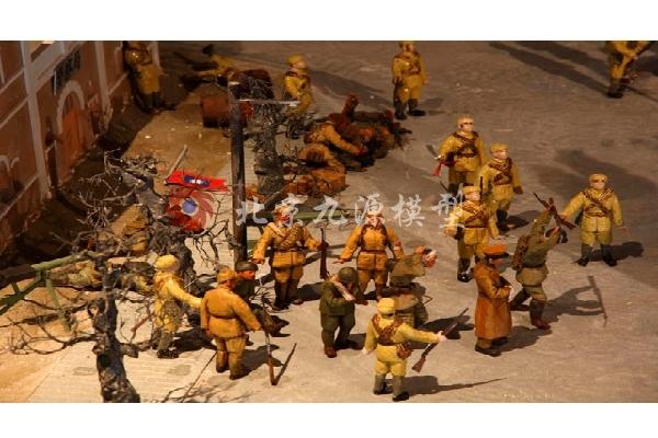 抗日战争场景模型-抗日战争场景模型-5