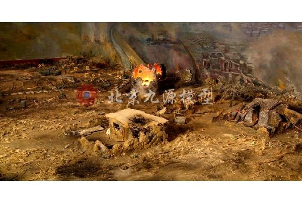 抗日战争场景模型-抗日战争场景模型-6
