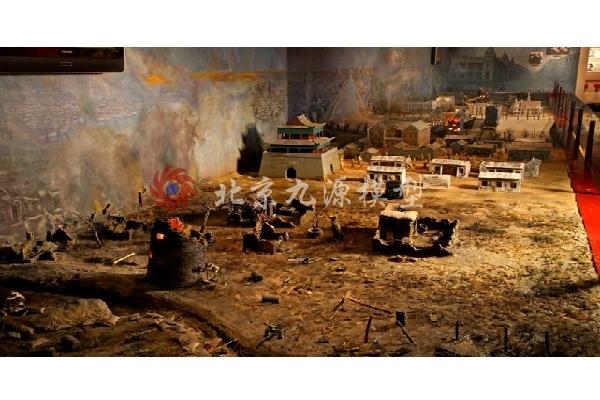 抗日战争场景模型-抗日战争场景模型-7