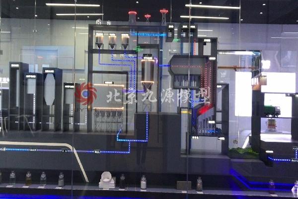 生活垃圾焚焼发电工艺流程模型-I9S`V_Y-D2Q-5L24NCPZASO