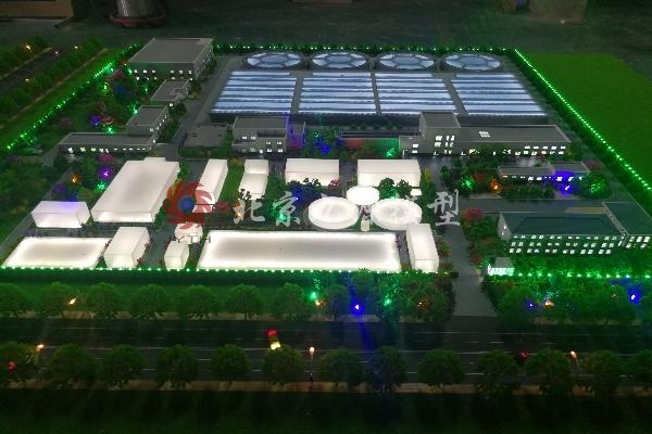 西宁市第六污水处理厂模型-IMG_20180712_081455