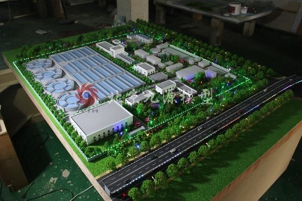 西宁市第六污水处理厂模型-IMG_3992