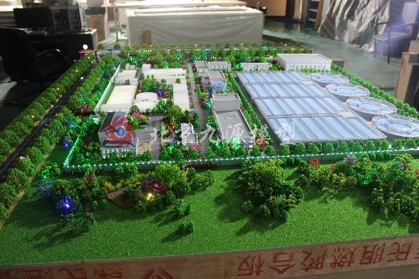 西宁市第六污水处理厂模型-IMG_3998
