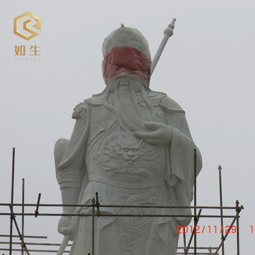 關羽、關公雕像安裝-5