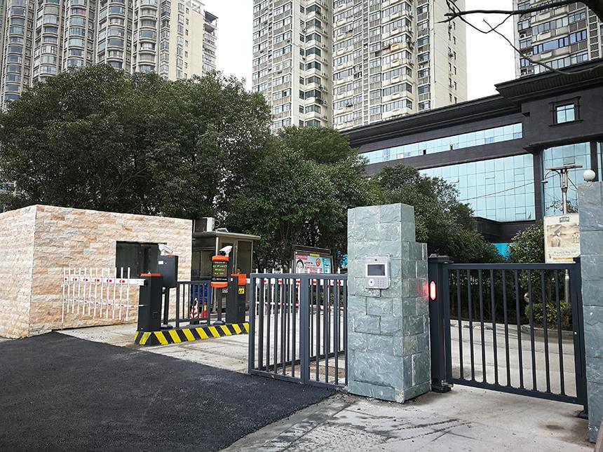 南昌近水花园小区门禁案例