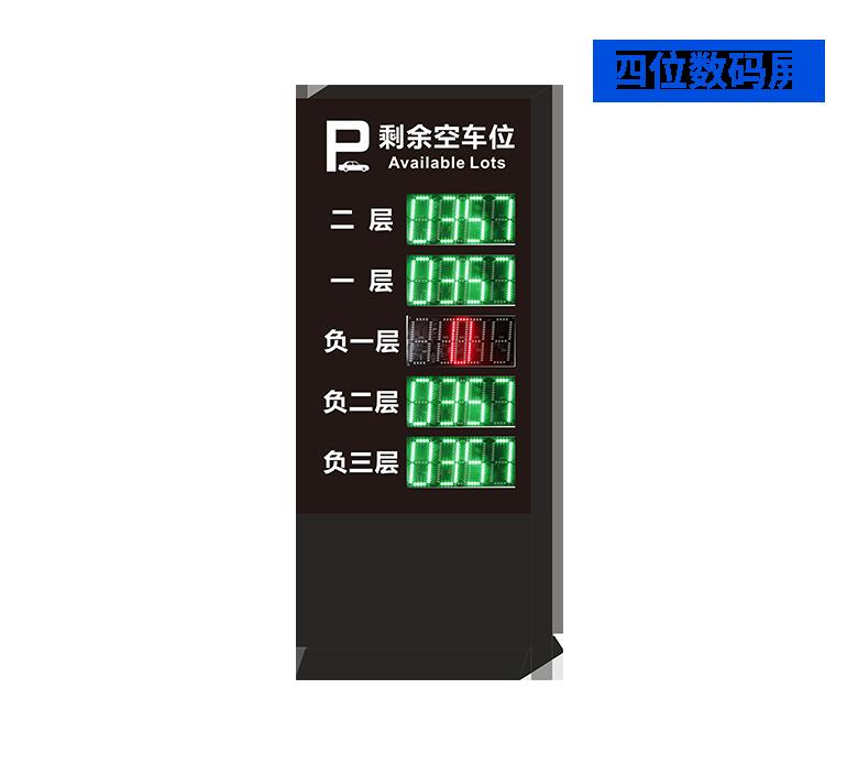 停车场入口空位显示屏-3