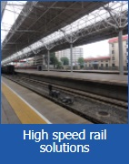 High speed rail solutions