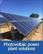 Photovoltaic power plant solutions