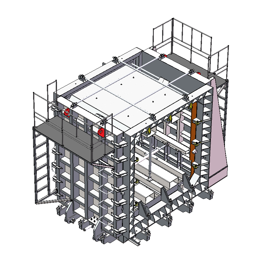 CDGL-01-01管廊总装