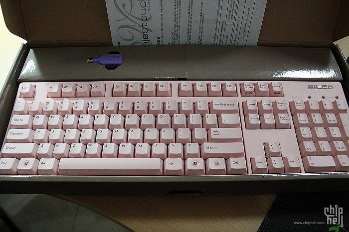Filco104粉色限定版开箱-007
