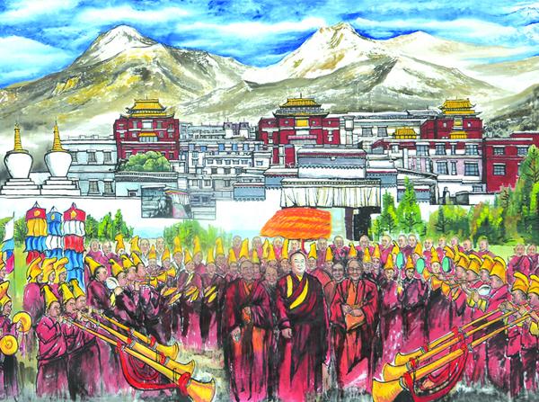 《大美西藏》局部2