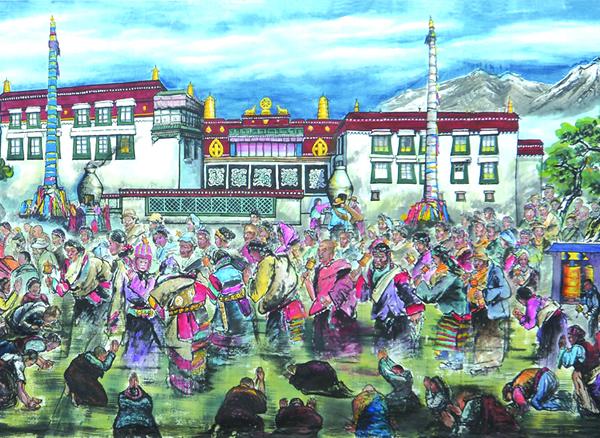 《大美西藏》局部3