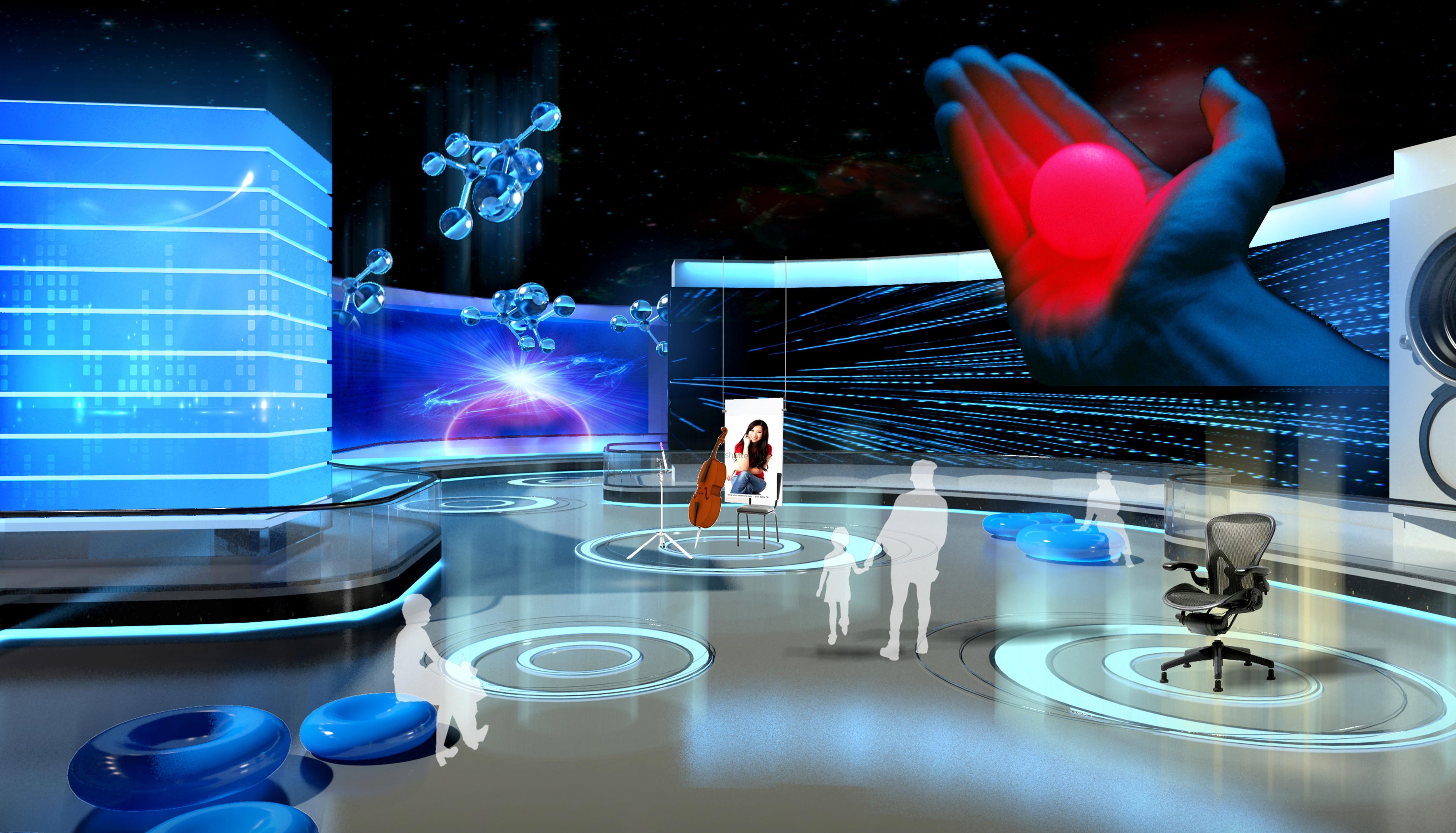 科技生活展館設計1