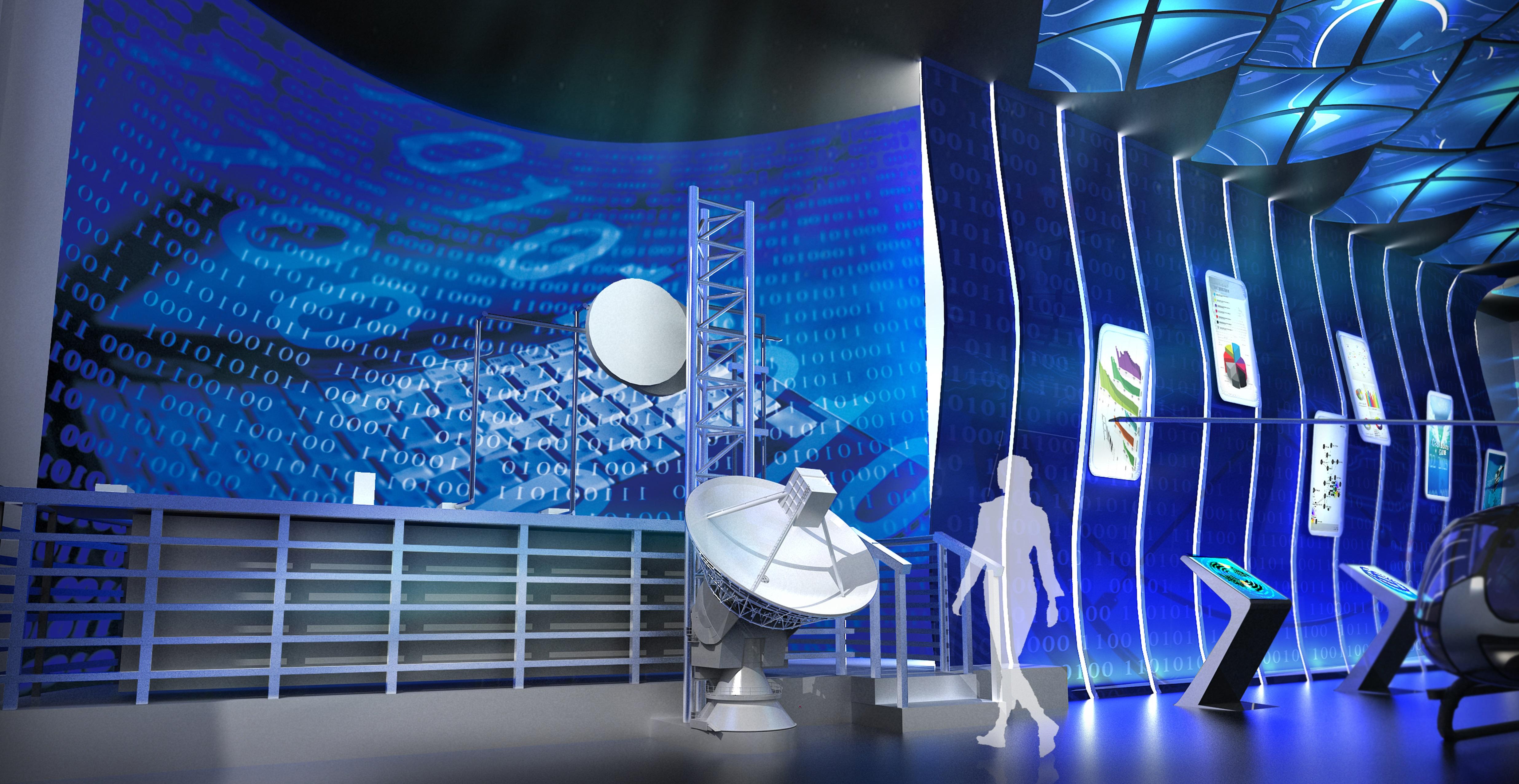 科技生活展館設計8