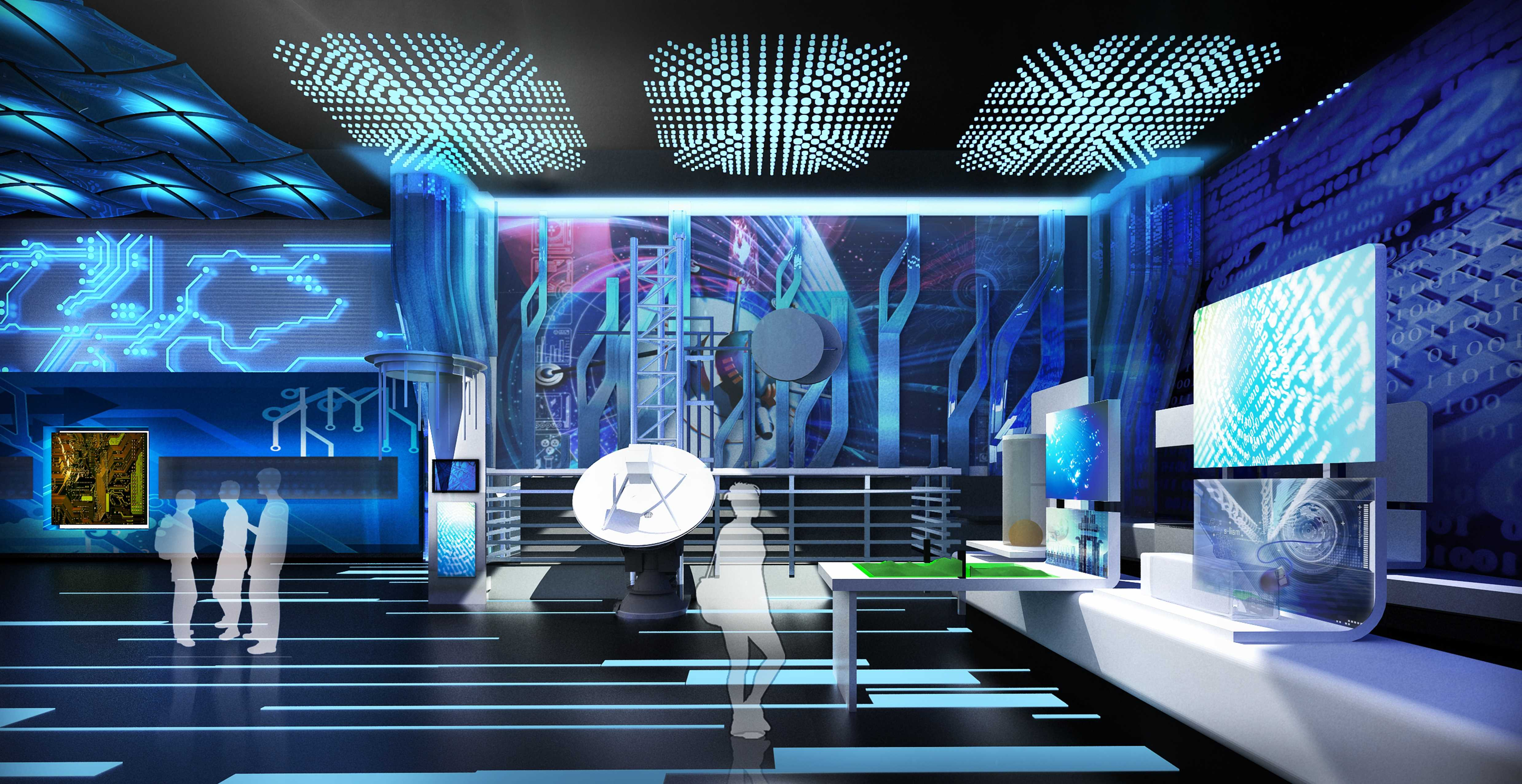 科技生活展館設計7