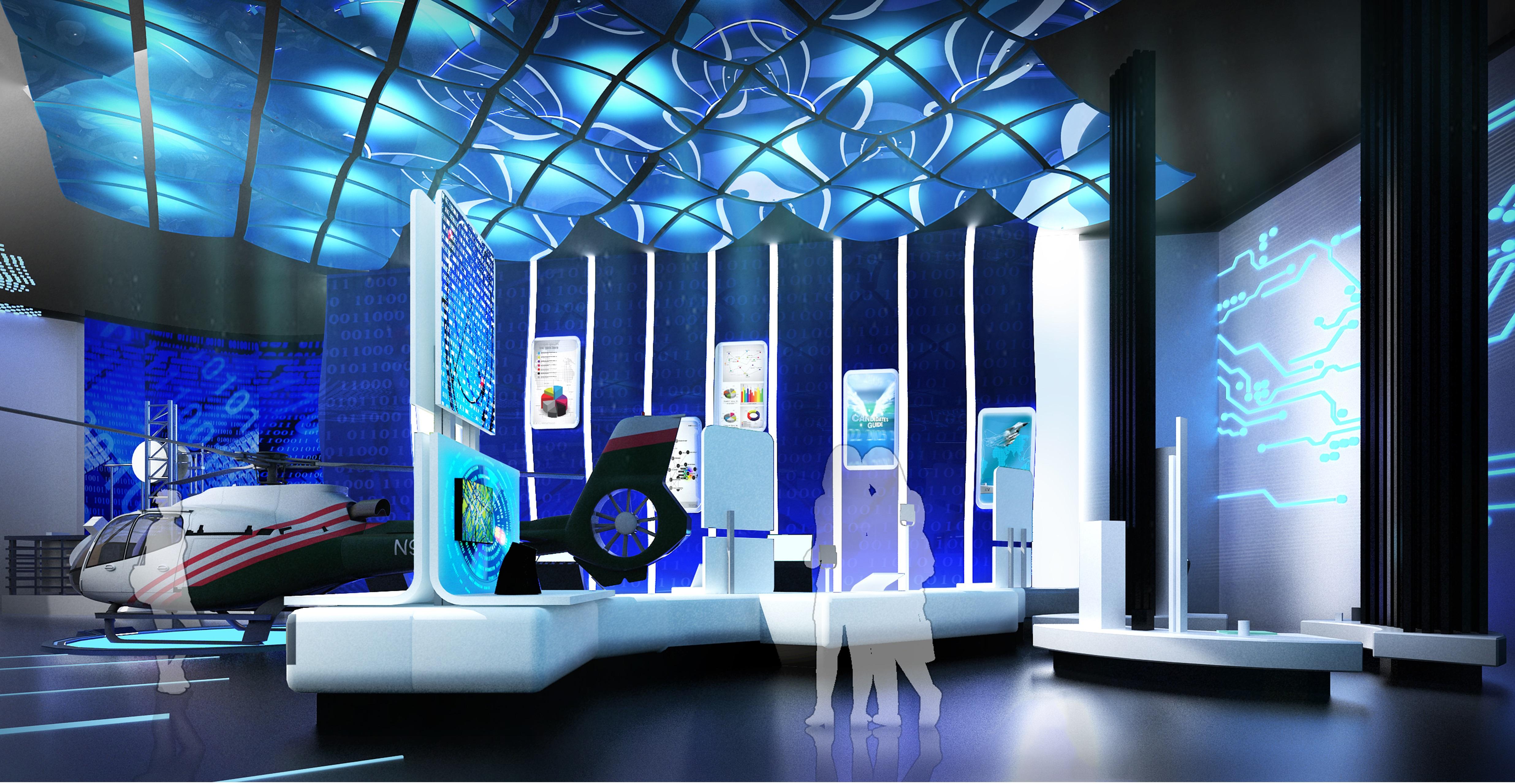 科技生活展館設計6