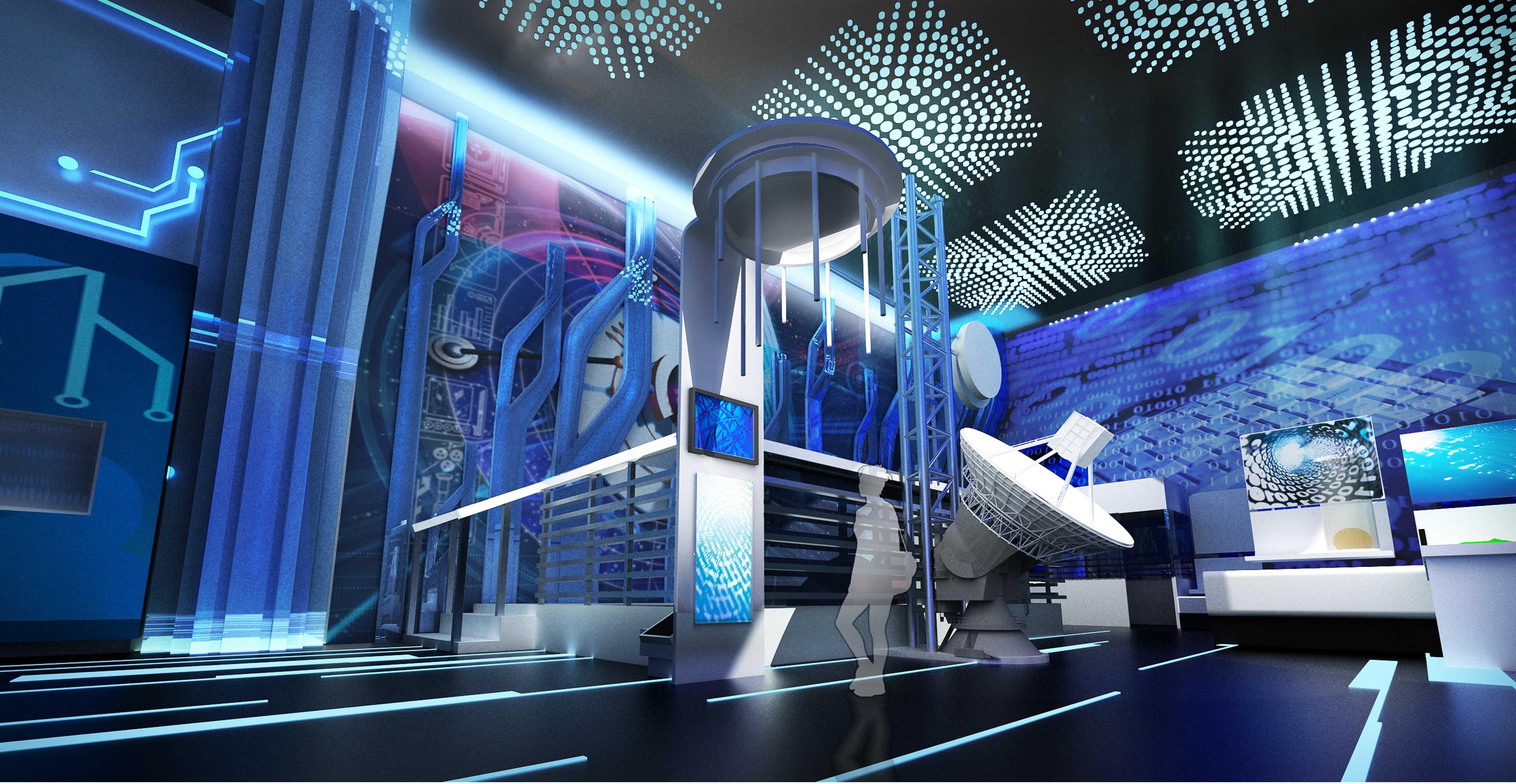 科技生活展館設計5