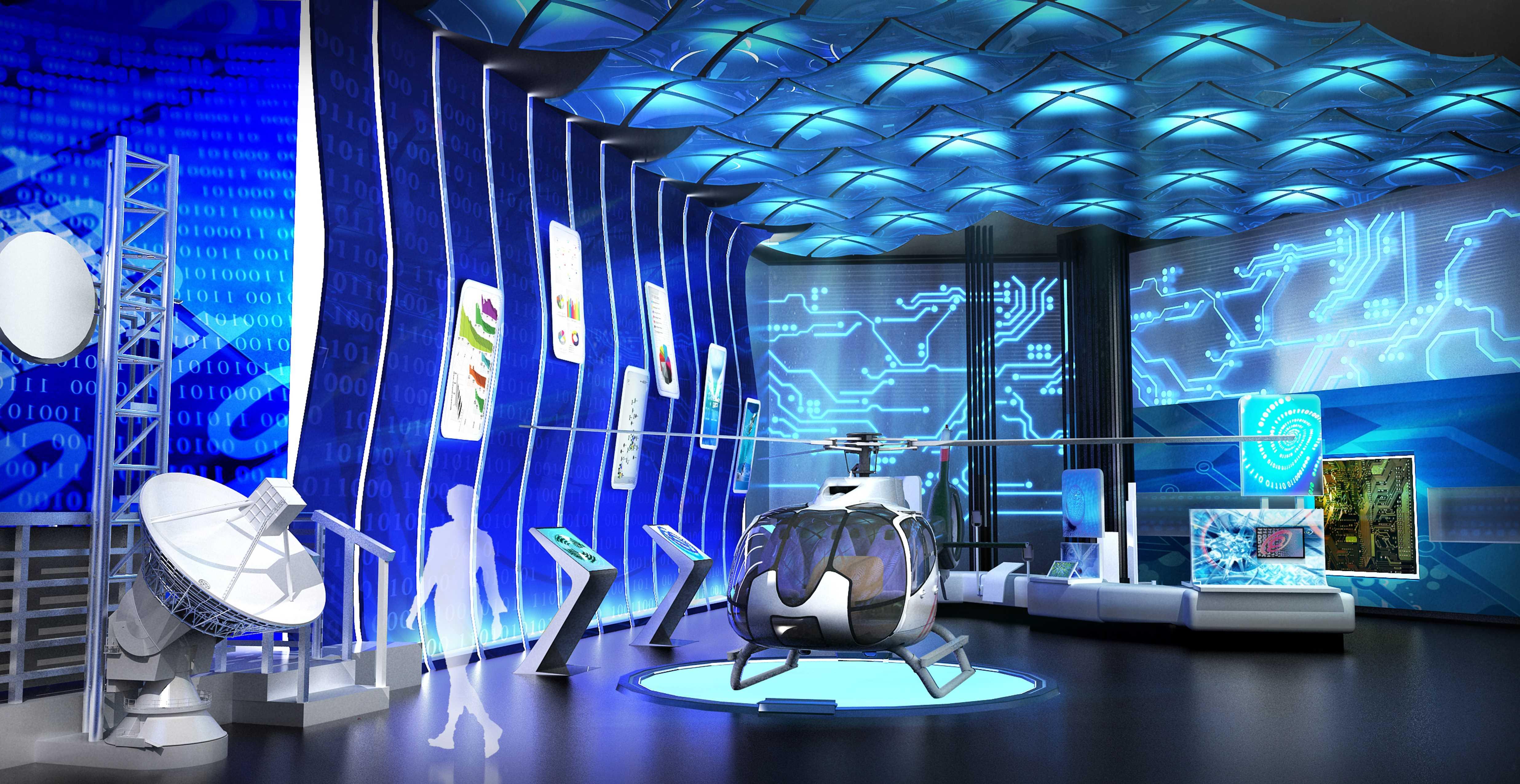 科技生活展館設計4