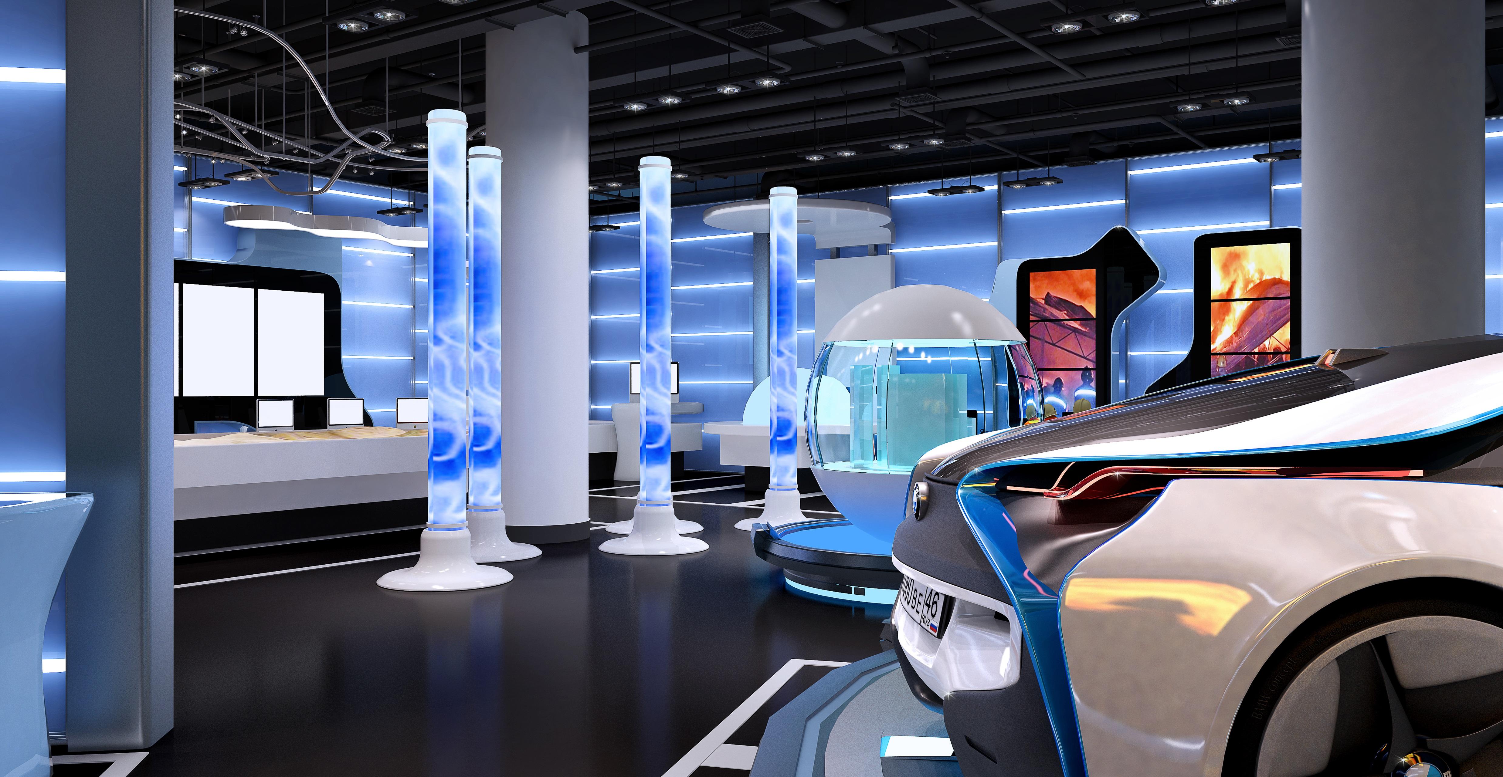 科技生活展館設計3