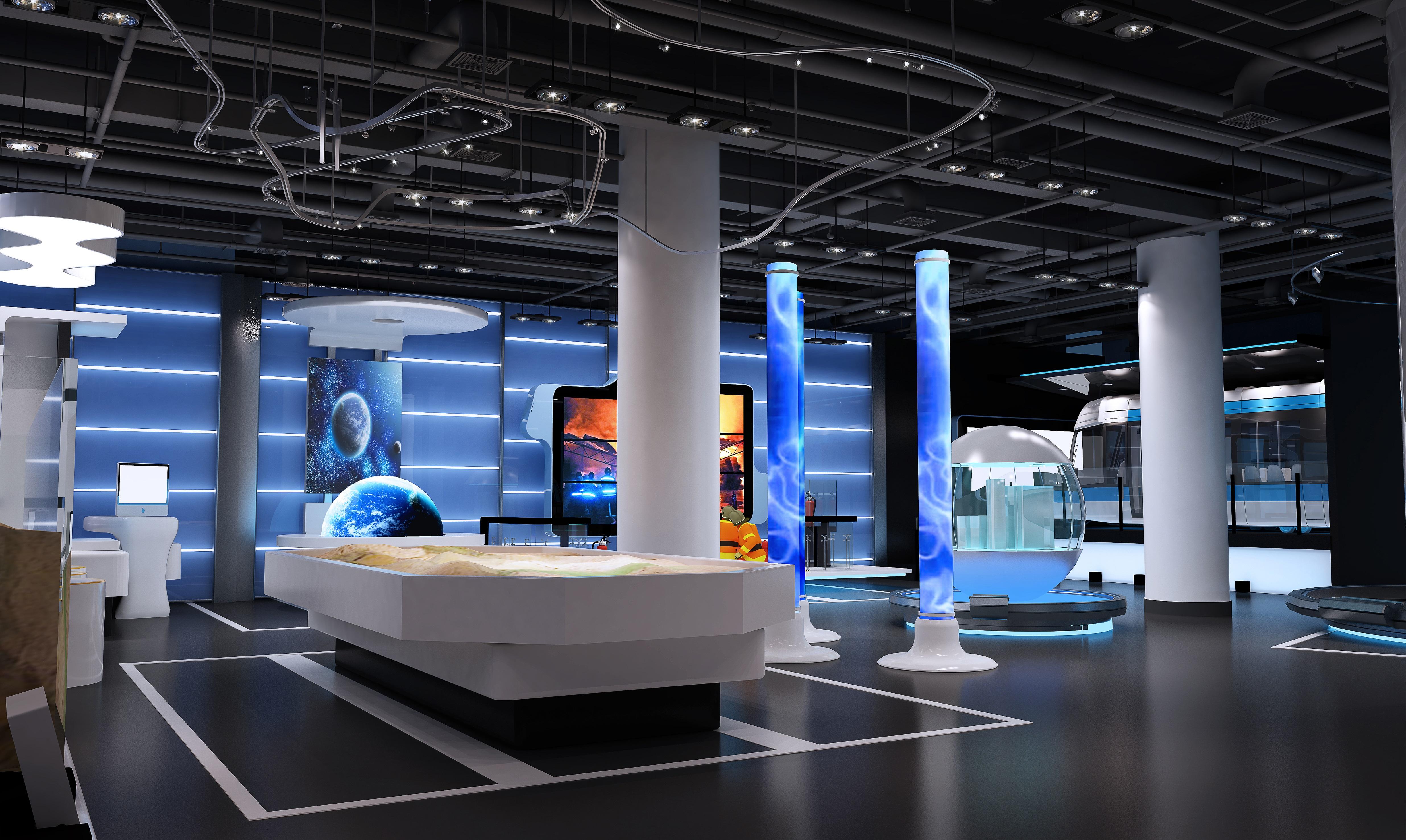 科技生活展館設計2
