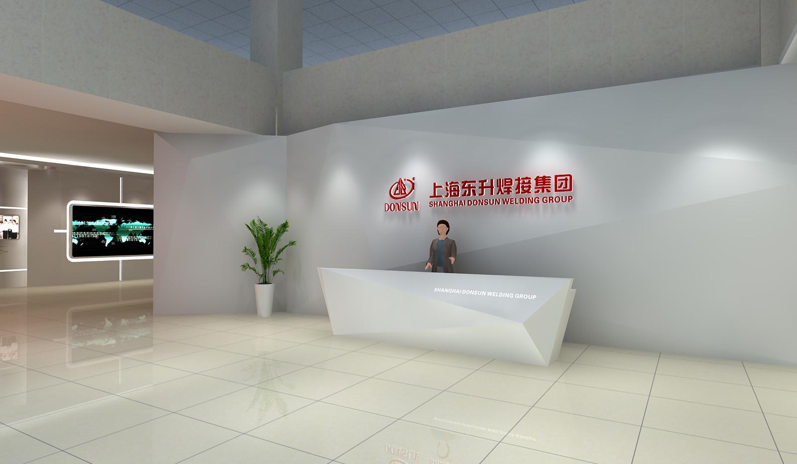 上海东升展厅设计1