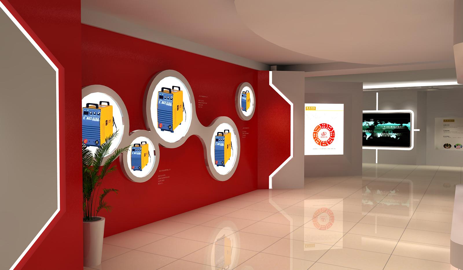 上海东升展厅设计6