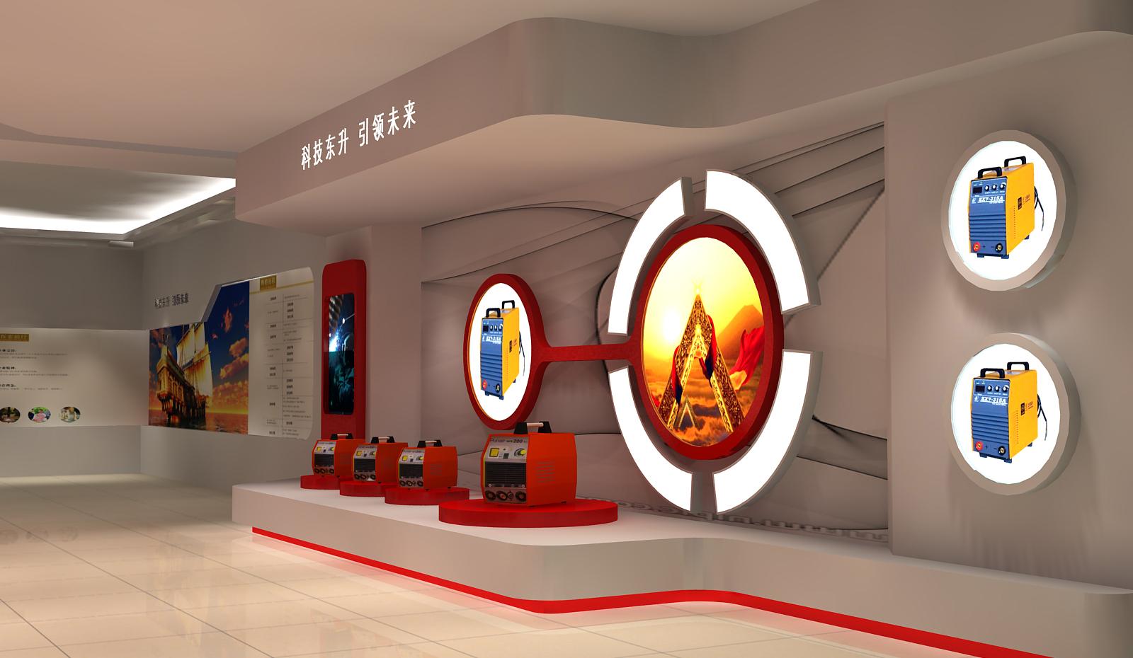 上海东升展厅设计5