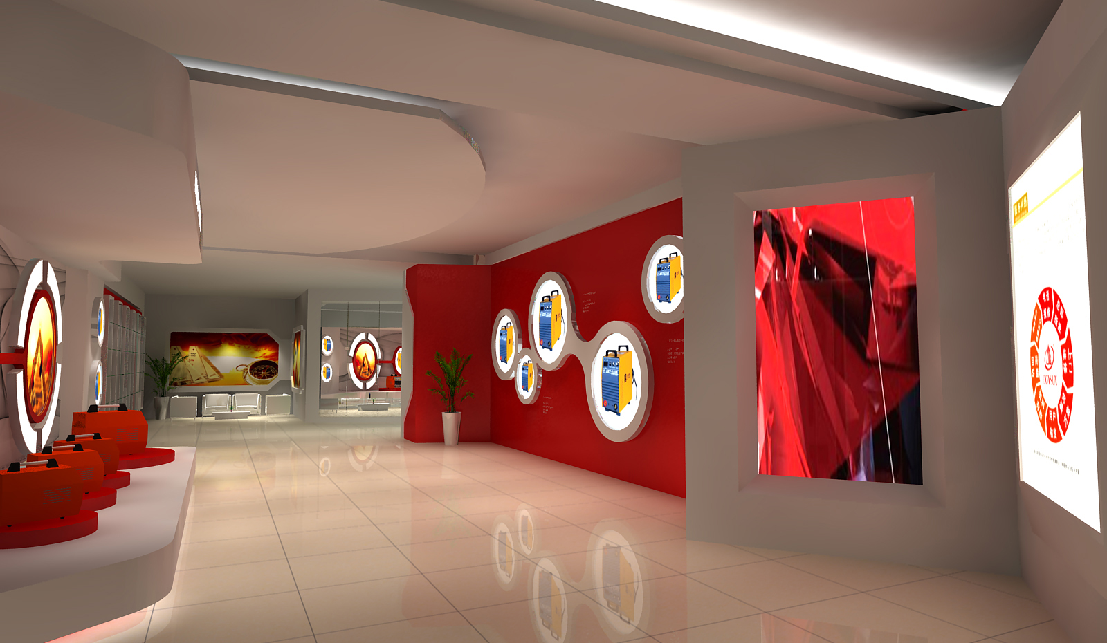 上海东升展厅设计3