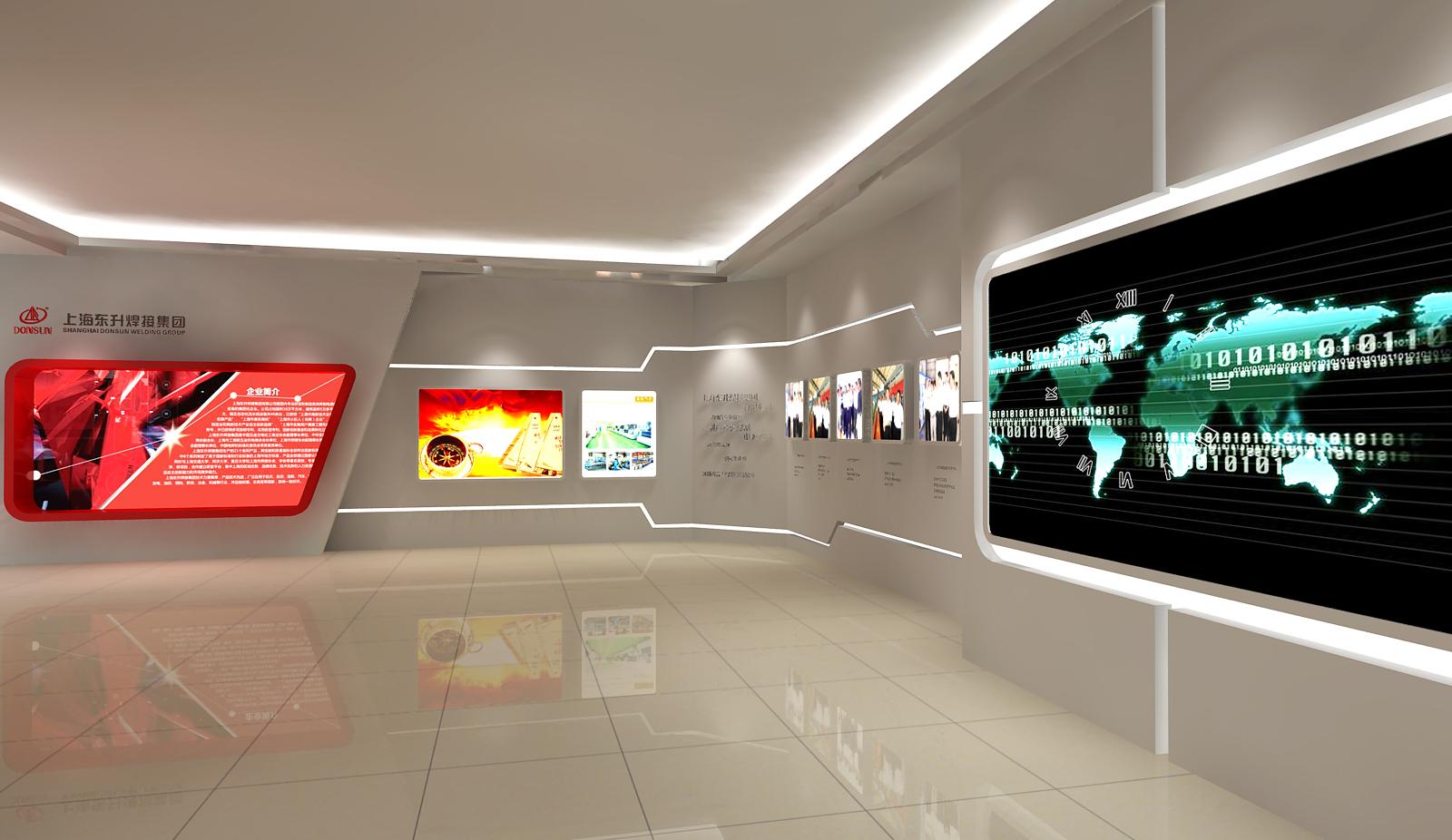 上海东升展厅设计2