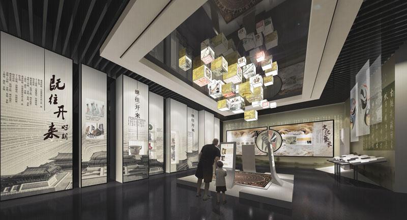 黃河文化館展廳設計-4