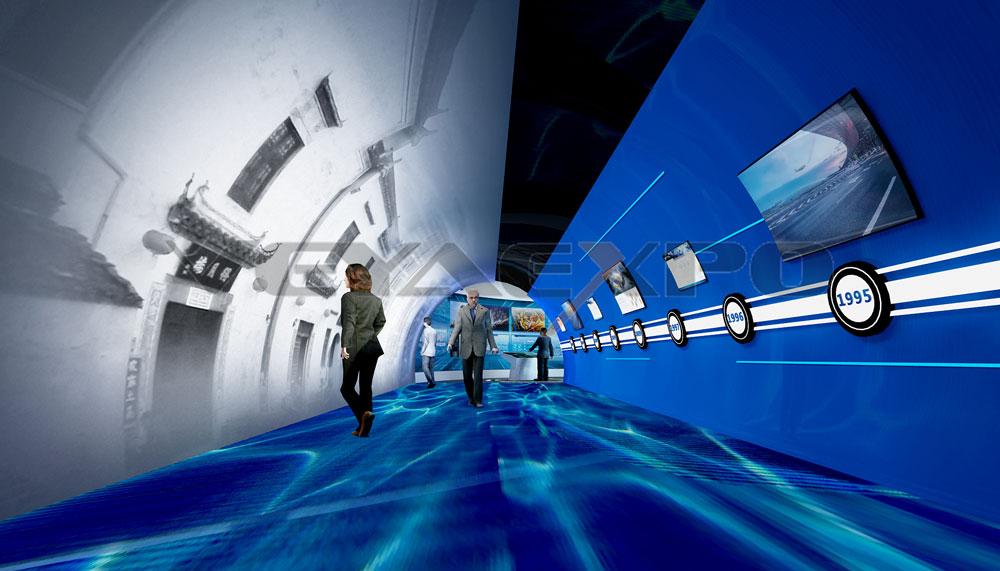 安徽建工展館設計-光輝歷程