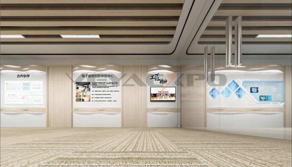 上海互软集团展馆设计-2