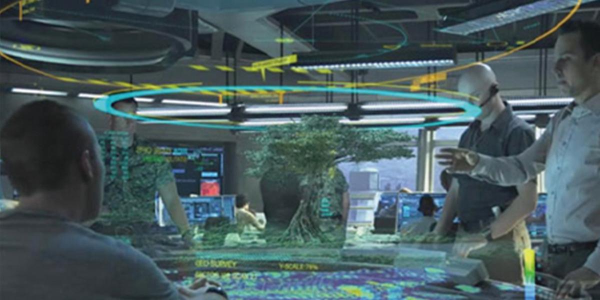 三维立体互动投影沙盘-2