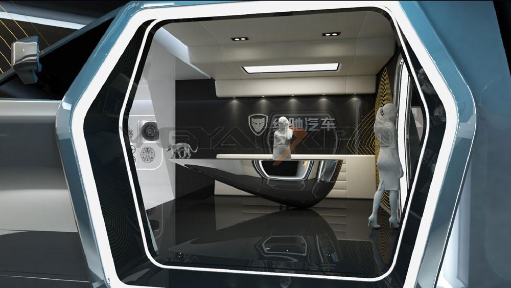 绿驰科技馆展厅设计-2