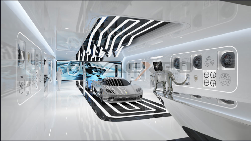 绿驰科技馆展厅设计-3